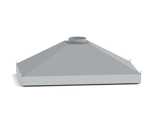 (v31) Вытяжной зонт для коптильных камер Ижица-1200