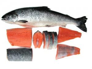 разделка рыбы ижица
