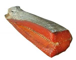 Балык - это вяленая спинка лососевой или осетровой рыбы
